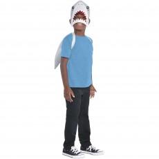 Shark Splash Party Supplies - Shark Mask & Fin