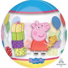 Peppa Pig Clear  Shaped Balloon