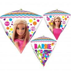 Diamondz Barbie Sparkle UltraShape Shaped Balloon 38cm x 43cm