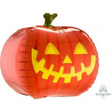 Halloween UltraShape Pumpkin Shaped Balloon