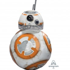 Star Wars Party Supplies - The Force Awakens BB8 Shaped Balloon