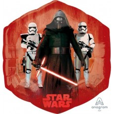 Star Wars Party Decorations - Super Shaped Balloon The Force Awakens