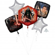 Star Wars Party Supplies - The Force Awakens Foil Balloons