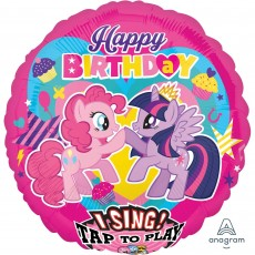 My Little Pony Party Decorations - Singing Balloon Sing-A-Tune XL