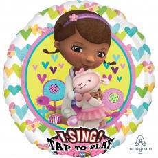 Doc Mc Stuffins Party Decorations - Singing Balloon Sing-A-Tune XL