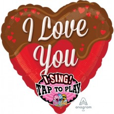 Love Sing-A-Tune Sweet Chocolate Singing Balloon