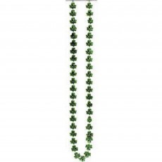 St Patrick's day Shamrock Bead Chain Jewellery