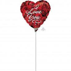 Love Roses Foil Balloon