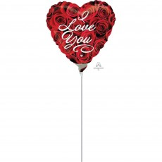 Love Roses Shaped Balloon