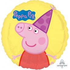 Peppa Pig Standard HX  & Hat Foil Balloon