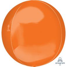Orange Shaped Balloon 38cm x 40cm