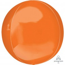 Orbz XL Orange Shaped Balloon 38cm x 40cm