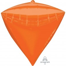 Diamondz Orange UltraShape Shaped Balloon 38cm x 43cm