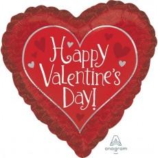 Valentine's Day Standard Hidden Love Shaped Balloon