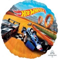 Round Hot Wheels Standard HX Foil Balloon 45cm