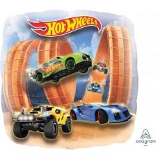 Hot Wheels Party Decorations - Shaped Balloon Racer Jumbo Panoramic