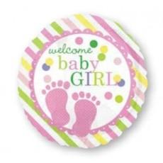 Baby Shower - General Feet Design Foil Balloon