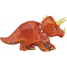 Dinosaur Triceratops Foil Balloon