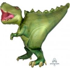 Dinosaur UltraShape T-Rex Shaped Balloon 91cm x 76cm