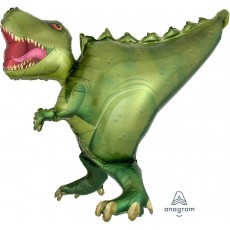 Dinosaur UltraShape T-Rex Shaped Balloon