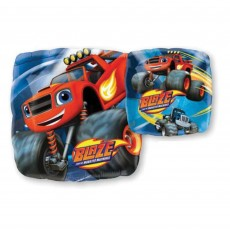 Square Blaze & The Monster Machines Standard HX Shaped Balloon 45cm