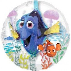 Finding Dory Party Decorations - Shaped Balloon Super Insider Round