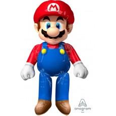 Super Mario Party Decorations - Super Mario Airwalker Foil Balloon