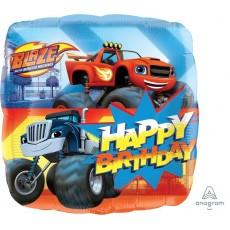Blaze & The Monster Machines Standard HX Shaped Balloon