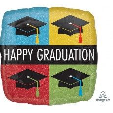 Graduation Standard HX Caps Foil Balloon