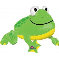 Green UltraShape Froggy Shaped Balloon
