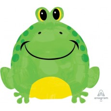 Princess Junior XL Happy Frog Shaped Balloon