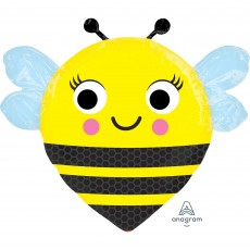 What Will It Bee? Happy Buzz'n Bee Foil Balloon