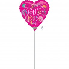 Mother's Day Doodle Foil Balloon