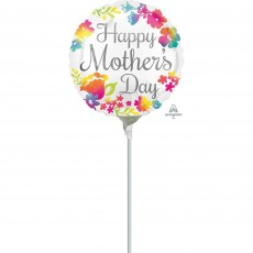 Mother's Day Watercolour Foil Balloon