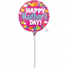 Mother's Day Hearts Foil Balloon