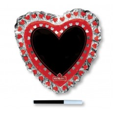 Valentine's Day SuperShape Write-On Shaped Balloon