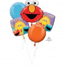 Sesame Street Bouquet Foil Balloons