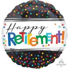 Retirement Standard HX Foil Balloon