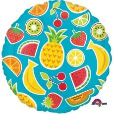 Hawaiian Party Decorations Tropical Fruits Standard HX Foil Balloons
