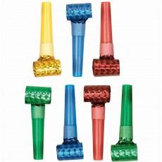 Multi Colour Party Supplies - Blowouts Prismatic