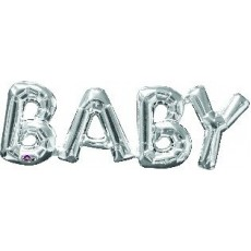 Baby Shower - General Silver  Foil Balloon