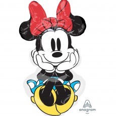 Minnie Mouse SuperShape Rock the Dots Shaped Balloon