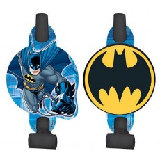 Batman with Medallions Blowouts 13cm Pack of 8