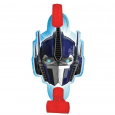 Assorted Colours Transformers Blowouts Pack of 8