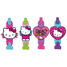 Hello Kitty Rainbow Blowouts 13cm Pack of 8