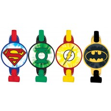 Justice League with Medallions Blowouts