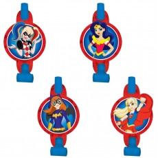 Super Hero Girls with Medallions Blowouts