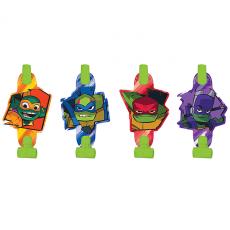 Rise of the Teenage Mutant Ninja Turtles Blowouts 13cm Pack of 8