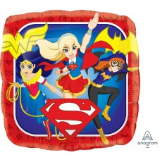 Super Hero Girls Characters Foil Balloon