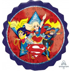Super Hero Girls Party Decorations - Shaped Balloon SuperShape